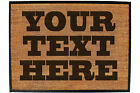Funny Doormat Novelty Door Mat Birthday Home Office - DOORMAT-YOUR-TEXT-HERE