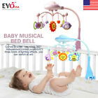 Baby Soft Musical Bed Crib Cot Mobile Stars Dreams Projection Nusery Lullaby Toy