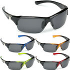 Polarized Men Fishing Golf Cycling Driving Sunglasses Outdoor Sport Wrap Glasses