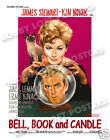 BELL BOOK AND CANDLE LOBBY CARD POSTER OS/IT 1958 JAMES STEWART KIM NOVAK