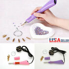 US Iron-on Wand Applicator Heat Gun for Hotfix Rhinestone crystal Heat-fix Tool