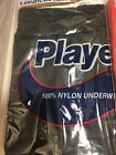 NEW IN POLY BAG MEN'S NYLON T-SHIRT AND BOXER LUXURIOUS KNIT BLACK-NAVY-RED