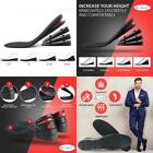Height Increase Insoles, 4-Layer Orthotic Heel Shoe Lift Kit With Air Cushion El