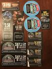 12 Copenhagen, Skoal, & Grizzly Smokeless Tobacco Coupons $26.25 Total Savings