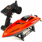 UDIRC 2.4Ghz RC Racing Boat 30KM/H Electronic Remote Control Boat for Adult Kids