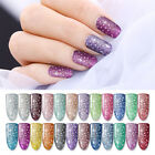 BORN PRETTY 10ml Glitter Sequines Nail UV Gel Polish Shimmer Nail Art Design