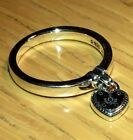 PANDORA LOVE LOCK RING  196571, S925 ALE STERLING SILVER, ALL SIZE+POUCH