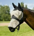 Thick Mesh Fly Mask Full Face Insect Protection With Ears Nose Shetland - Full