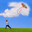 1PCS Children Red Parrot Kites Playing Small Naive Toy Flying Kite with 50M Line