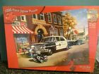 New Sealed in Pkg Master Pieces 1000 Pc Jigsaw Puzzle On the Beat Police Cruiser