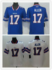 Men's Buffalo Bills NO.17 Josh Allen Jersey White/Blue M-3XL on eBay