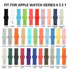 Replacement Silicone Sport Band Strap For Apple Watch iWatch Series 4/3/2/1