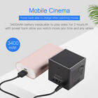 Super Mini DLP Pocket Projector 854 480 Wifi BT4.0 Android 7.1 Home CinemaPlayer
