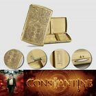 CIGARETTE BOX CASE ALUMINIUM BRASS VINTAGE HOLDER CONSTANTINE GOTHIC RETRO BOXES