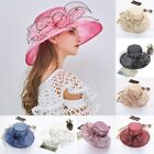US Womens Fascinators Kentucky Derby Church Dress Wedding Floral Tea Party Hat