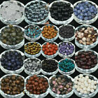 Wholesale Lot Natural Gemstone Round Spacer Loose Beads 4mm/6mm/8mm/10mm