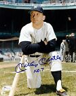 Mickey Mantle Signed 8x10 Autographed REPRINT PHOTO New York Yankees RP
