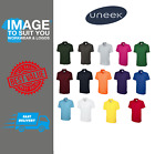 Uneek Classic Unisex Polo Shirt Multi Pack Uc101 Casual Sport Golf Size S-4XL