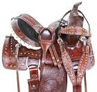 Premium Ranch Work Roping Pleasure Trail Western Youth Horse Saddle Tack 12 13