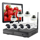 8 Cameras CCTV Wireless Home Security Camera System WiFi IP Camera w/ Hard Drive