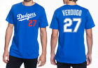 Alex Verdugo Los Angeles Dodgers #27 MLB Jersey Style Men's Graphic T Shirt on Ebay