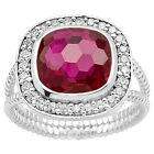 Simulated Indian Ruby 925 Sterling Silver Ring Jewelry Size 6-9 DGR1072_E