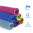 3pcs Ice Instant Cooling Towel Running Jogging Gym Chilly Pad Sports Yoga N0O7A image