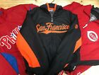 MAJESTIC WARM UP THERMA BASE JACKETS BASEBALL MBL MANY TEAMS AND SIZES FOR MEN on Ebay