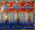 3 NEW Super Duper fishing lures