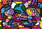 Children of the World By Romero Britto Poster Prints Wall Art Decoration Picture