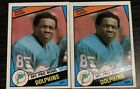 Mark Duper 1984 Topps Lots of 2 RC NM/MT Dolphins