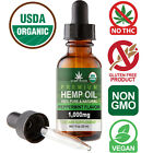 Natural Premium Hemp Oil Drops for Pain Relief, Stress, Anxiety, Sleep 1000MG $8.45 USD on eBay