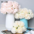 5pcs Big Peony Artifcial Silk Fake Flower Home Display Wedding Bouquet Decor