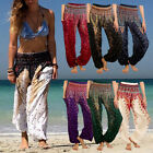 Womens Indian Harem Trousers Alibaba Yoga Dance Baggy Loose Aladdin Hippy Pants