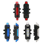 Bicycle Bike Taillight USB Rechargeable Waterproof Headlight LED Warning Lights