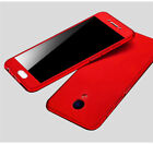 For Meizu M6 Note M5 M3 Note Pro 7 Tempered Glass 360° Protection PC Case Cover
