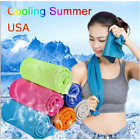 Cool Towel Ice Cold Running Jogging Gym Instant Cooling Outdoor Sports Towel  image