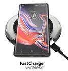 Wireless Fast Charge Pad Case Friendly Charger QI Enabled For Samsung iphone