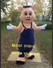 Lovely Pig Mascot Costume Suit Cosplay Party Game Fancy Dress Outfit Adults SIze
