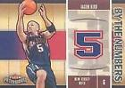 2003-04 Fleer Patchworks By The Numbers Nets Basketball Card #14 Jason Kidd
