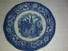 Staffordshire Liberty Blue Histroic Colonial Scenes OLD NORTH CHURCH Saucer