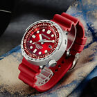 New Tuna SBBN015 Automatic Watches San Martin Stainlss Steel diving Wristwatches image