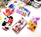 For iPhone XXS Max XR 6 7 8Plus Love Disney Soft Phone Case Clear Cover Defender
