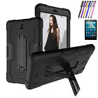 "For Alcatel 3T Tablet 8"" Case Hybrid Rugged Full Cover+HDClear Screen Protector"