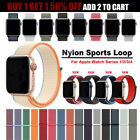 Nylon Sports Loop iWatch Band Strap For Apple Watch Series 4/3/2/1 38/40/42/44m  image