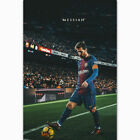 W341 Lionel Messi Poster Football Soccer Top Player Super Star Art Poster