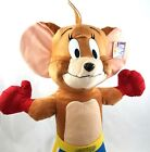 Vintage Tom and Jerry Cartoon Jerry Mouse Boxer Plush Toy Large 24 Inch Plushie