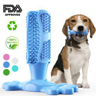 Dog Teeth Cleaning Chew Toys Rubber Toothbrush Stick Bite Resistant Brushing DFN