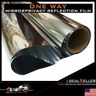 Static Cling Glass Mirror Window Film 60''Wide Privacy Home Commercial Security