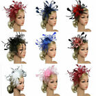 Large Headband Alice band Hat Fascinator Wedding Lady Day Race Royal Ascot A6Z3W